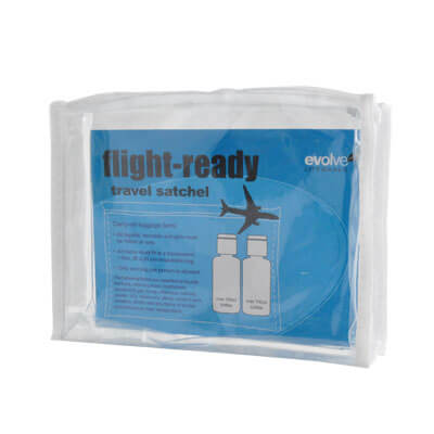 FLIGHT READY SATCHEL