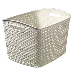 My Style Rattan Box XL Cream