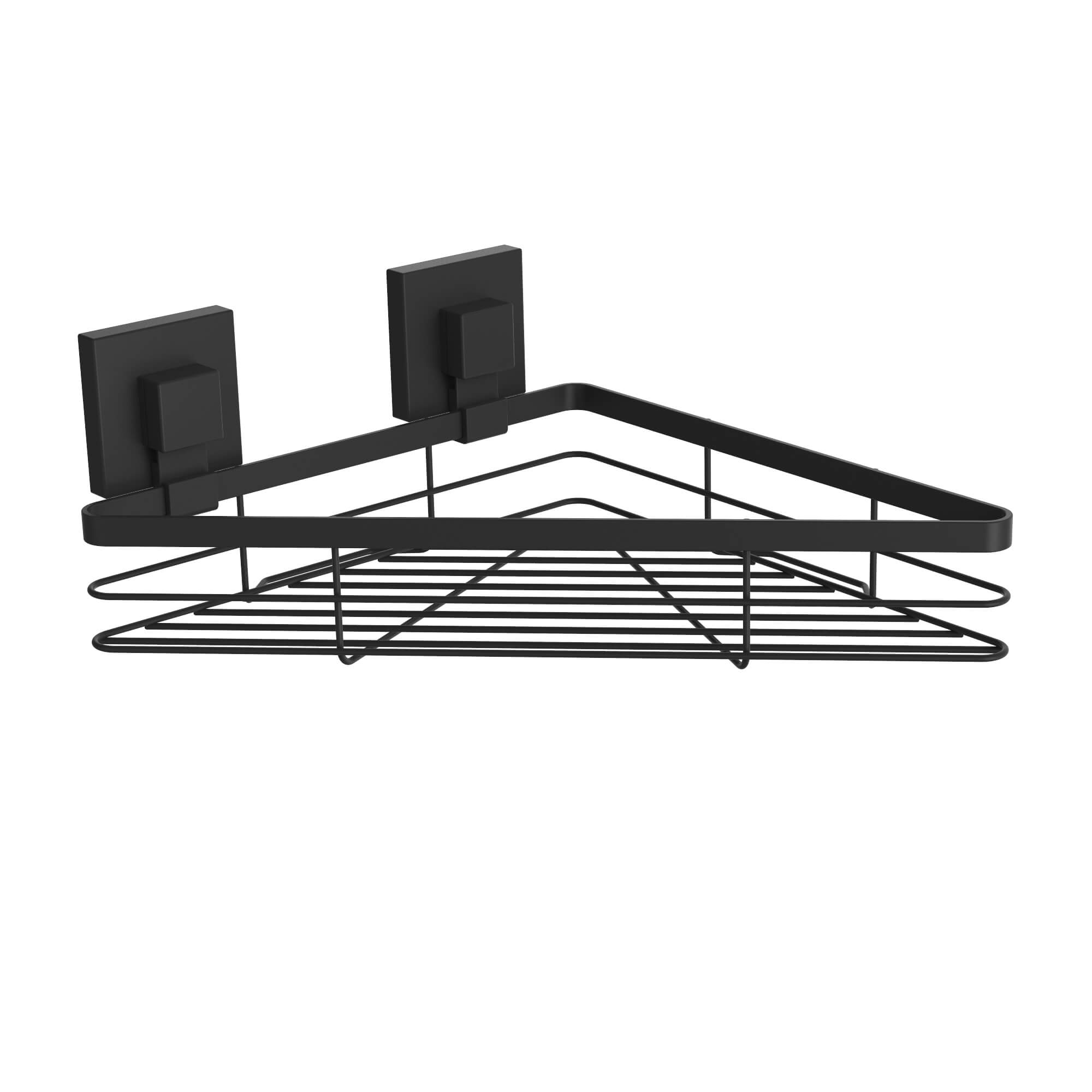 Suction Corner Basket matte-black